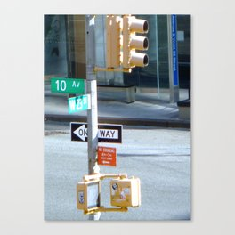 10th and West 23 St Canvas Print
