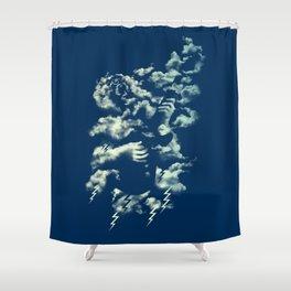 Air Guitar Shower Curtain