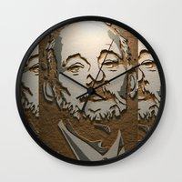 murray Wall Clocks featuring Murray by Blake Byers