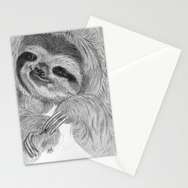 Just a sloth Stationery Cards