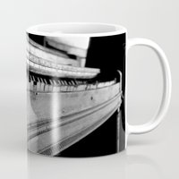 piano Mugs featuring Piano by Susigrafie