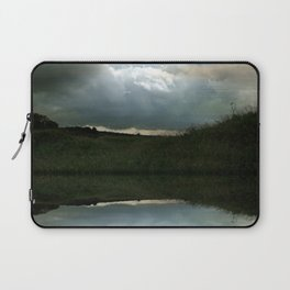 Every Cloud Has a Silver Lining Laptop Sleeve