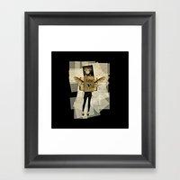 Mrs. Kafka Framed Art Print