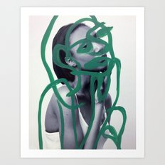 Marsha Art Print