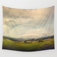 sublime Wall Tapestries featuring Rainbow Sublime by Miguel Santos