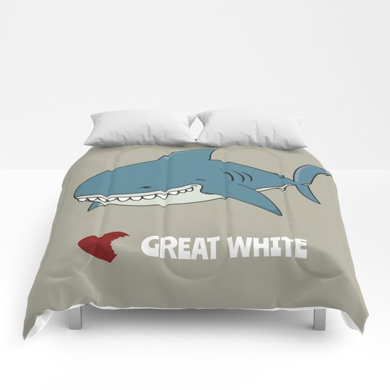Love Great white Comforters