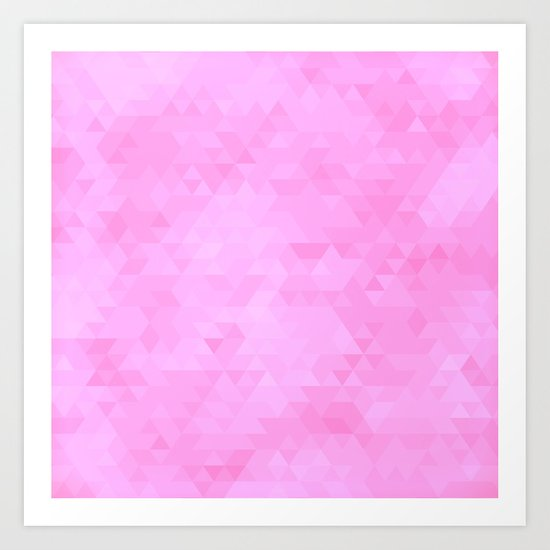 Triangles #9 Art Print