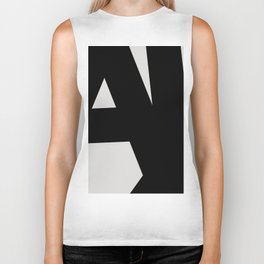 Abstract Form 01 Biker Tank