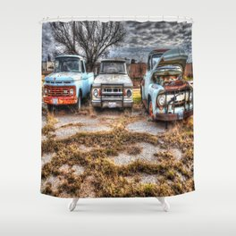 Kicking the Tires 2 Shower Curtain