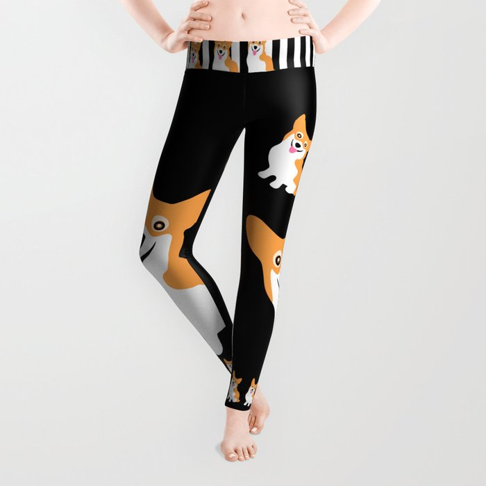 Cute Little Corgi Leggings