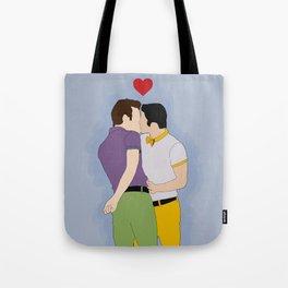 Klaine Kissing Tote Bag