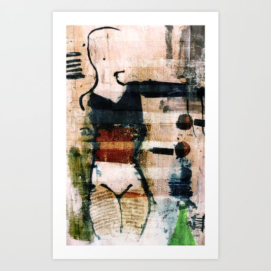 dancer 3 v1 Art Print