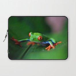 Little Tree Frog (Color) Laptop Sleeve