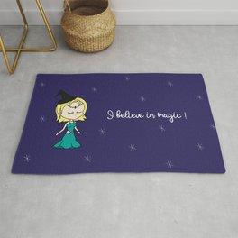 I believe in magic! Rug