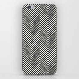 chevron painted iPhone Skin
