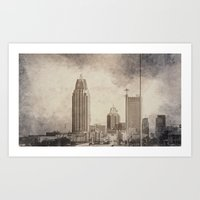 alabama Art Prints featuring Mobile, Alabama by Judith Lee Folde Photography & Art