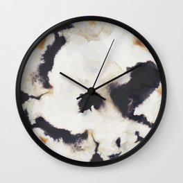 Ink and coffee Wall Clock