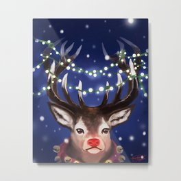Rudolf Metal Print