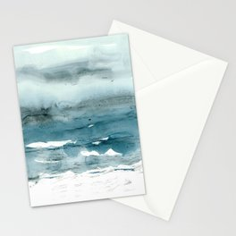 dissolving blues Stationery Cards