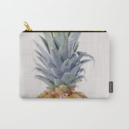 Pineapple on Pink Carry-All Pouch