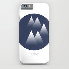 Explore/Mountains Slim Case iPhone 6s