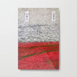 Tower Poppies 03 Metal Print