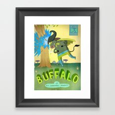 Buffalo Framed Art Print