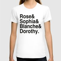 golden girls T-shirts featuring Golden Girls by pruine