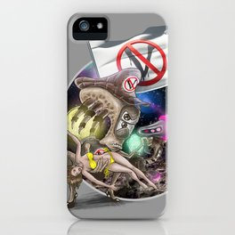G.A.V.E.R. is upon us! iPhone Case