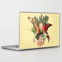safari Laptop & iPad Skins featuring Safari  by polina stroganova collages