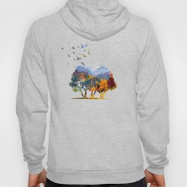 Autumn in the mountains Hoody