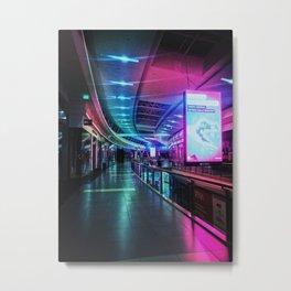 Shopping Mall January 12. 2077. Metal Print