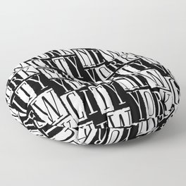 In a New York City Frame of Mind Floor Pillow