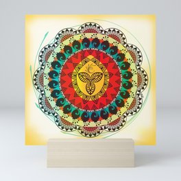Mandala Mini Art Print