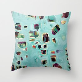 Rebirth. Throw Pillow