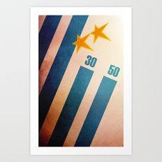 Uruguay World Cup Art Print