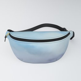 Cloudy colors Fanny Pack