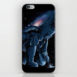 Welder In Space iPhone Skin