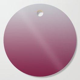 LAST HOURS - Minimal Plain Soft Mood Color Blend Prints Cutting Board