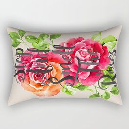 Stop and Smell the Roses Rectangular Pillow