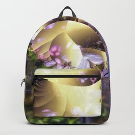 Floral fractals mixed reality Backpack