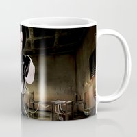 obey Mugs featuring Obey by Rayne Morgan