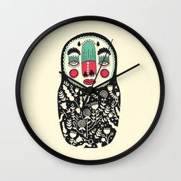 Matryoshka Matrioska Wall Clock
