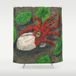 The Hatchling Shower Curtain
