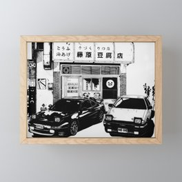 Drift Framed Mini Art Print