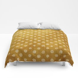 A Chérissent Holiday in Dazzling Gold Comforters