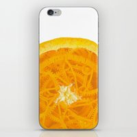 martell iPhone & iPod Skins featuring A Clockwork Orange by Sophie Martell