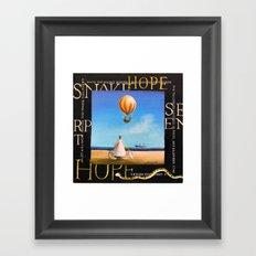 Hope 2 Framed Art Print