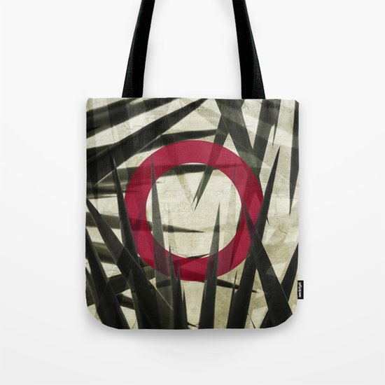Yucca Leaves Abstract Tote Bag