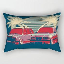 Bmw e30 & e36 Rectangular Pillow
